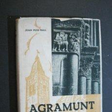 Libros antiguos: AGRAMUNT-ENSAYO FOLKLORICO,HISTORICO Y ARTISTICO-JUAN PUIG BALL-LIBRO ANTIGUO-VER FOTOS-(K-1224). Lote 228337275