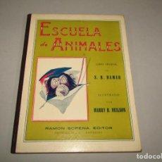 Libros antiguos: ANTIGUO ESCUELA DE ANIMALES COLECCIÓN BIBLIOTECA PARA NIÑOS DE RAMÓN SOPENA EDITOR - AÑO 1932. Lote 228340080