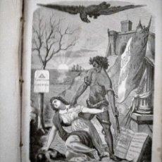Libros antiguos: NAPOLEÓN EL PEQUEÑO. LOS CALABOZOS DEL PAPA POR VICTOR HUGO.. Lote 228464778