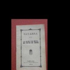 Libros antiguos: NAVARRA EN LAS NAVAS DE TOLOSA.. Lote 228591205