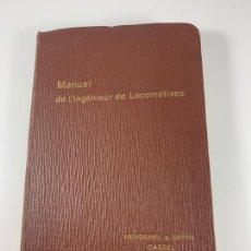 Livres anciens: MANUAL INGENIEROS LOCOMOTORAS TREN RENFE HENSCHEL & SOHN. Lote 228771920