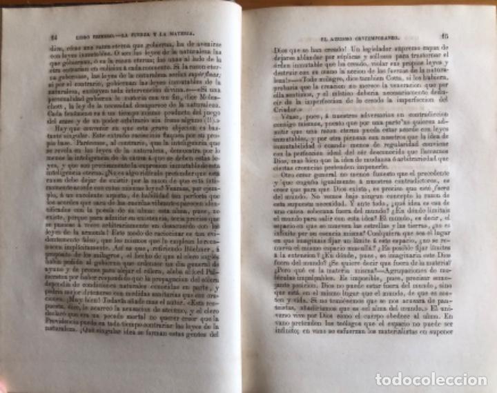 Libros antiguos: DIOS EN LA NATURALEZA- CAMILO FLAMMARION- MADRID 1878 - Foto 4 - 229192915