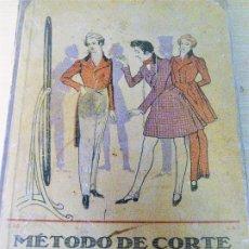 Libros antiguos: METODO DE CORTE . M. MULLER . MUNICH BARCELONA. 9 EDICION SASTRERIA PARA CABALLEROS. Lote 229250585