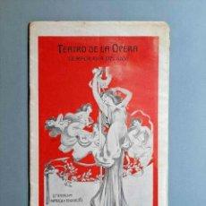 Libros antiguos: TEATRO DE LA ÓPERA TEMPORADA DE 1906 ARGUMENTO DE LA WALKYRIA BUENOS AIRES. Lote 229413430
