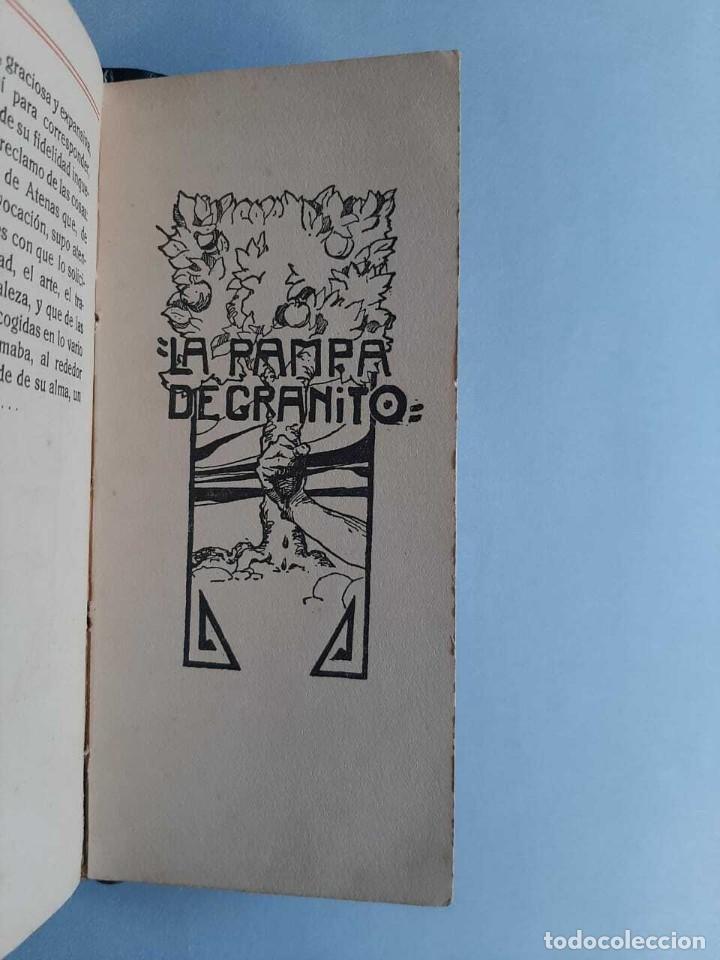 Libros antiguos: José Enrique Rodó Tres Parábolas de Proteo José Luis Zorrilla de San Martín - Foto 4 - 229414890