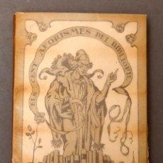 Libros antiguos: ELS CENT AFORISMES DEL BIBLIÒFIL - RAMON MIQUEL Y PLANAS. Lote 229593405