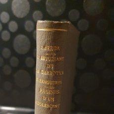 Livros antigos: LESTUDIANT DE LA GARROTXA/ NOVEL.LA/ LES ALES ESTESES/ AÑOS 30/ (REF.LIBROS.31). Lote 229616505