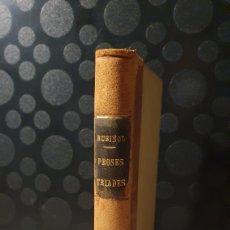 Libros antiguos: PROSES TRIADES/ SANTIAGO RUSIÑOL/ EDITORIAL CATALANA/ ANY 1921/ ORIGINAL DE ÉPOCA/(REF.LIBROS.32). Lote 229623365