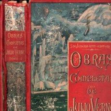Libros antiguos: OBRAS COMPLETAS DE JULIO VERNE TOMO 2 (SÁENZ DE JUBERA). Lote 230038070