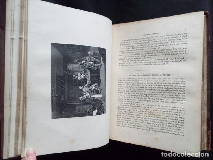 Libros antiguos: THE COMPLETE WORKS OF WILLIAM HOGARTH....., hacia 1870. JAMES HANNAY - Foto 9 - 230428715