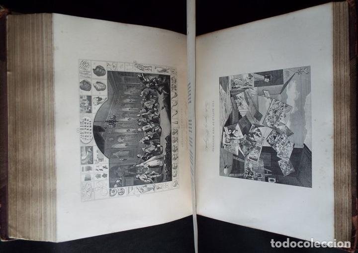 Libros antiguos: THE COMPLETE WORKS OF WILLIAM HOGARTH....., hacia 1870. JAMES HANNAY - Foto 10 - 230428715