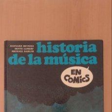 Libros antiguos: HISTORIA DE LA MÚSICA EN COMICS. Lote 230609630