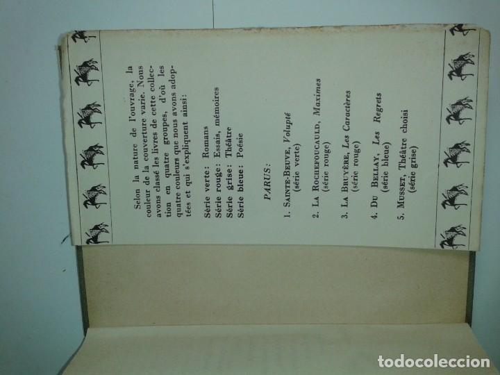 Libros antiguos: COLLECTION CLASSIQUE DU MILIEU DU MONDE THÉATRE CHOISI 1930 ALFRED DE MUSSET - Foto 3 - 230609920