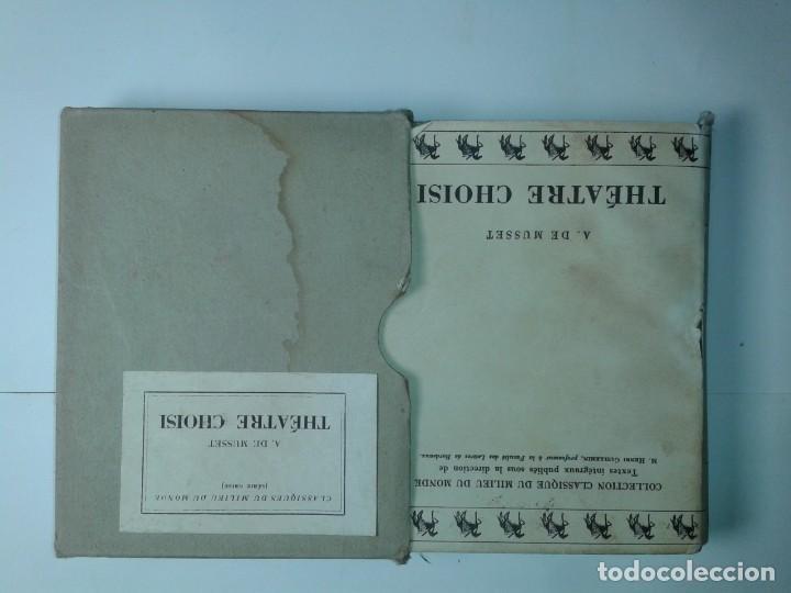 Libros antiguos: COLLECTION CLASSIQUE DU MILIEU DU MONDE THÉATRE CHOISI 1930 ALFRED DE MUSSET - Foto 4 - 230609920