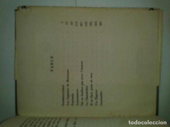 Libros antiguos: COLLECTION CLASSIQUE DU MILIEU DU MONDE THÉATRE CHOISI 1930 ALFRED DE MUSSET - Foto 5 - 230609920