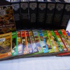 Livros antigos: ENCICLOPEDIA COMER BIEN SARPE. COMPLETA + INDICE DE RECETAS + 17 CUADERNOS ESCUELA DE COCINA. Lote 230773900