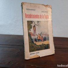 Libros antiguos: DESCUBRIMIENTOS DE LA TIERRA - JULIO VERNE - EDICIONES BAUZÁ, NO CONSTA AÑO, BARCELONA, INTONSO. Lote 230823200
