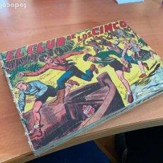 Libros antiguos: EL CLUB DE LOS CINCO. ORIGINAL MAGA. COMPLETA, VER DESCRIPCIÓN (COIB167). Lote 230913620