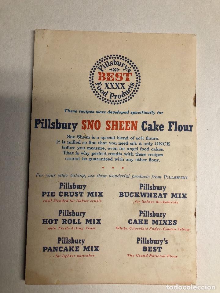 Libros antiguos: Cook Book. Kate Smith chooses her 55 favorite CAKE RECIPES. Ed 1952. Minessota - Foto 2 - 231180545