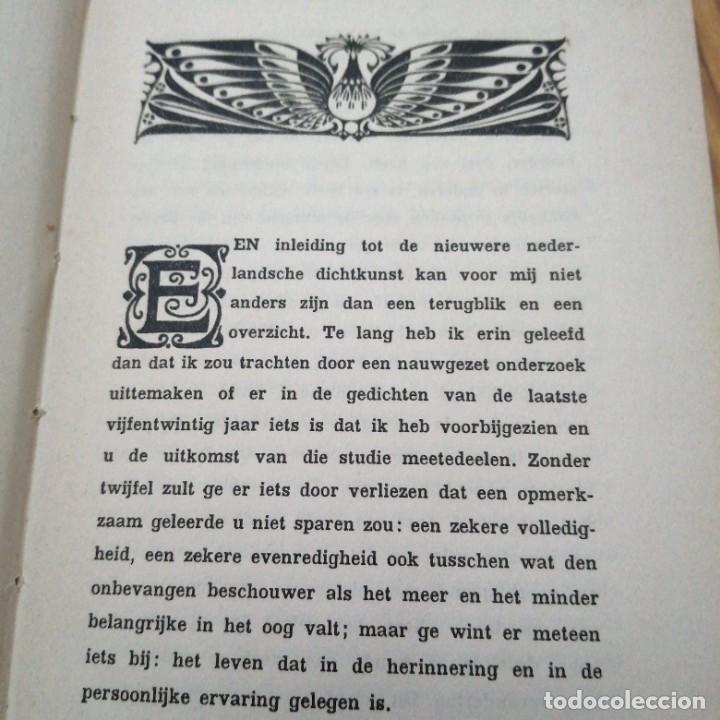 Libros antiguos: Libro ALBERT VERWEY Wereld Bibliotheek Inleiding tot de nieuwe nederlandsche dicht kunst 1880 1900 - Foto 3 - 231281610