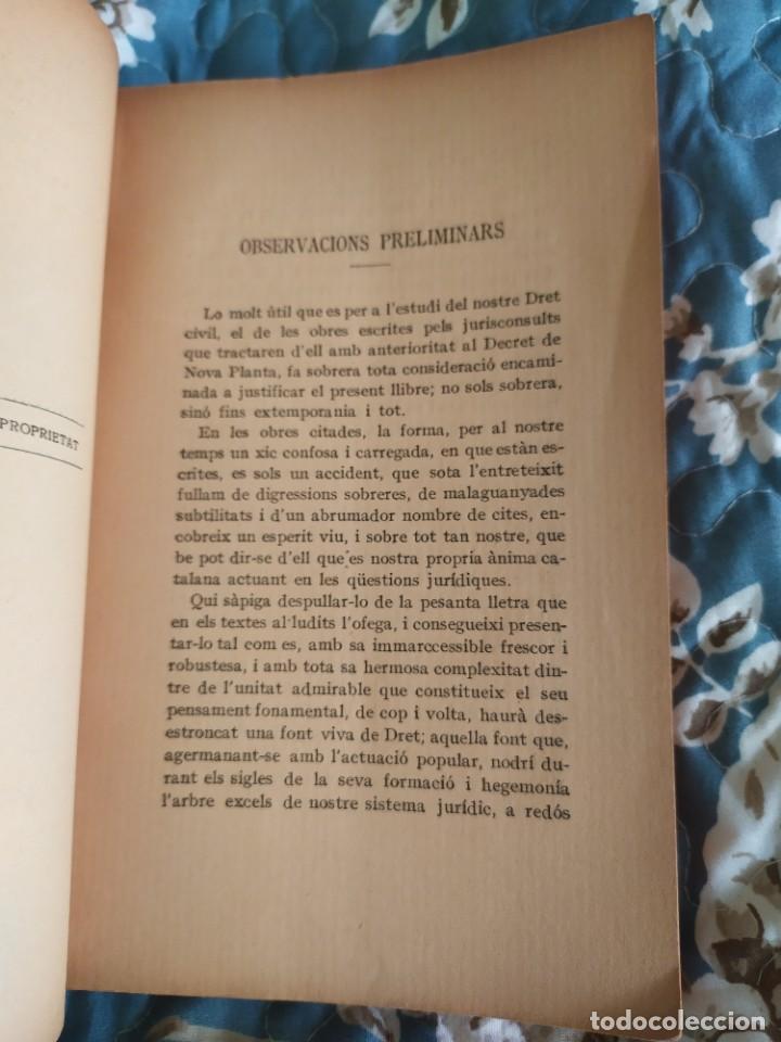 Libros antiguos: 1913. Questions Civils. Francisco Maspons I Anglasell. - Foto 5 - 231299855