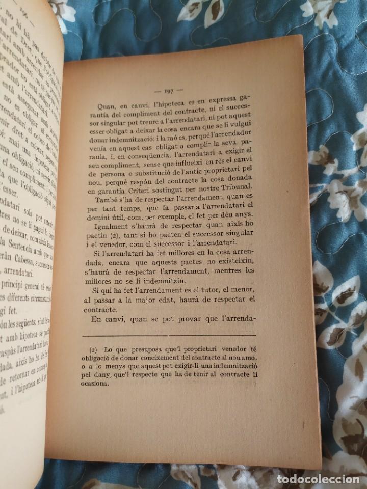 Libros antiguos: 1913. Questions Civils. Francisco Maspons I Anglasell. - Foto 8 - 231299855