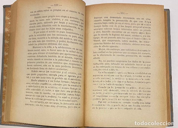 Libros antiguos: LAS ABERRACIONES DEL SEXO. El onanismo masculino. El onanismo femenino. Prostitución y libertinaje. - Foto 3 - 231346570