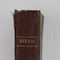 Libros antiguos: REVISTA MENAGE ENCUADERNADA AÑOS 1931-1932. EL ARTE DE LA COCINA. Lote 231453025