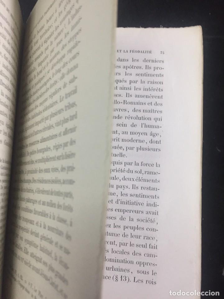 Libros antiguos: Lorganisation du travail, selon la coutume des ateliers et la loi du Décalogue. Le play Tours 1870. - Foto 7 - 231499915