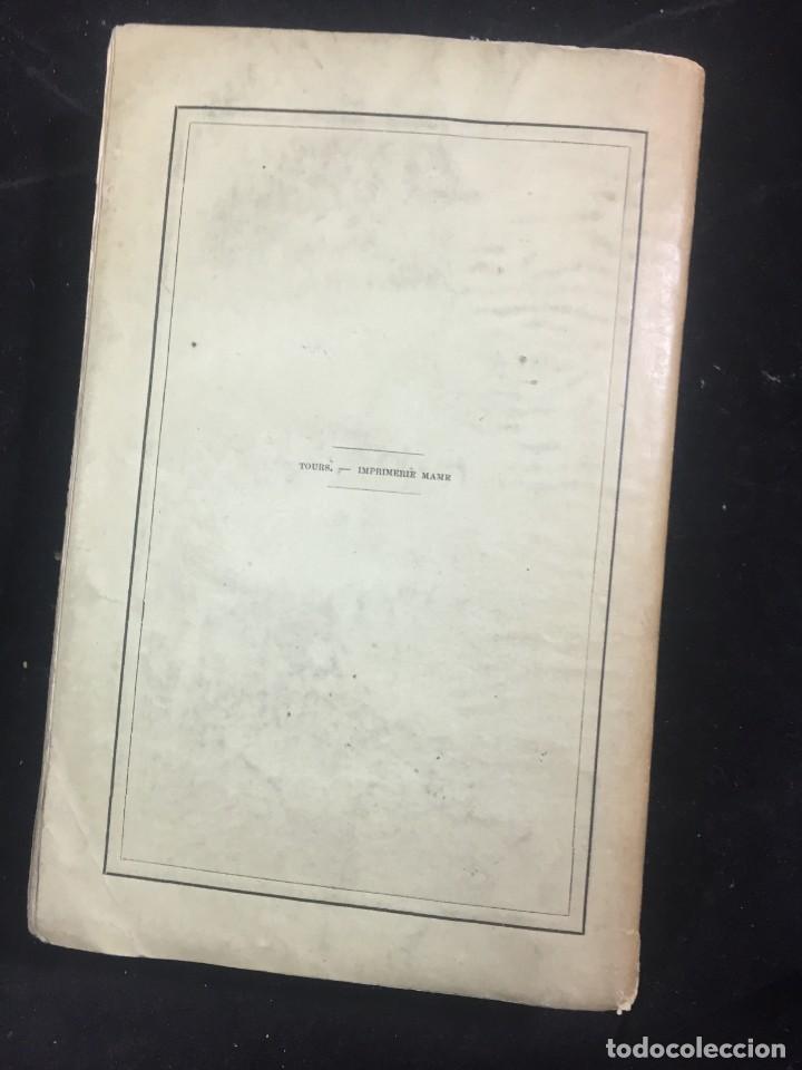 Libros antiguos: Lorganisation du travail, selon la coutume des ateliers et la loi du Décalogue. Le play Tours 1870. - Foto 12 - 231499915