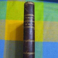 Libros antiguos: 1860. TRATADO DE CONSTRUCCIÓN DE VELAS (EMBARCACIONES). RIUDAVETS Y TURUDY.. Lote 231500415