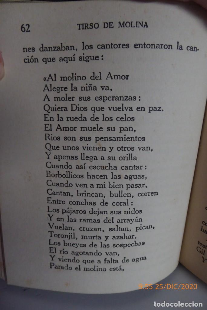 Libros antiguos: HISTORIAS DE TIRSO DE MOLINA RELATADAS A LOS NIÑOS - TERCERA EDICION 1942 - Foto 3 - 231730005