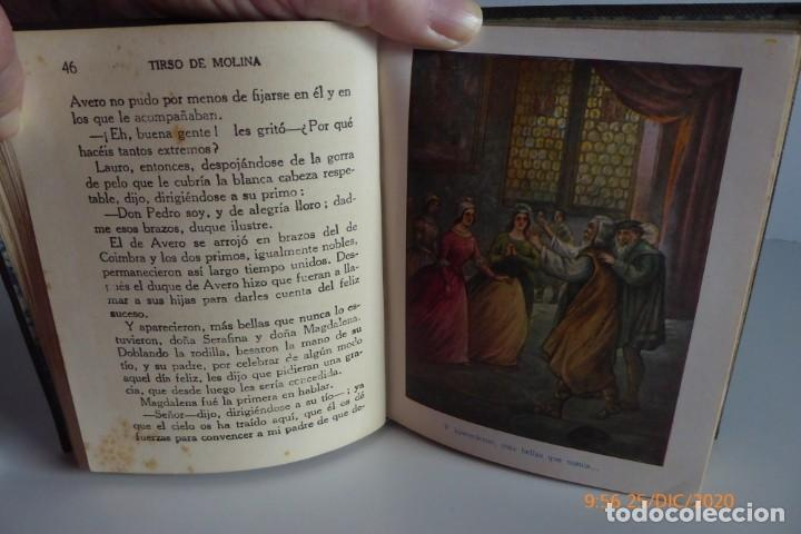 Libros antiguos: HISTORIAS DE TIRSO DE MOLINA RELATADAS A LOS NIÑOS - TERCERA EDICION 1942 - Foto 4 - 231730005