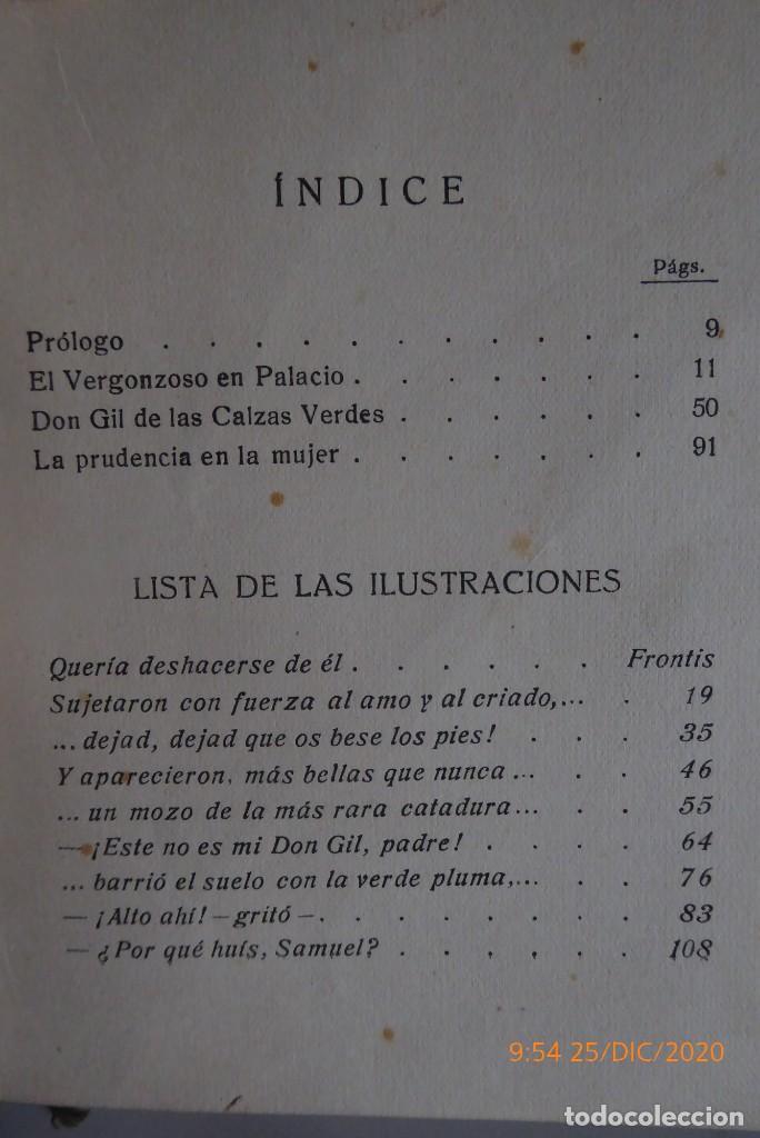 Libros antiguos: HISTORIAS DE TIRSO DE MOLINA RELATADAS A LOS NIÑOS - TERCERA EDICION 1942 - Foto 9 - 231730005