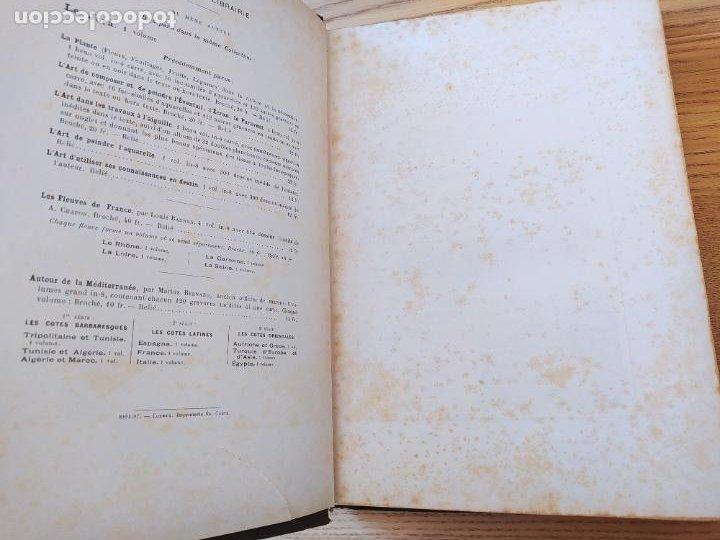 Libros antiguos: Les Vosges, Texte et Dessins G. Fraipont, ed. H. Laurens. 1897.Very rare in this condition. - Foto 13 - 231812060