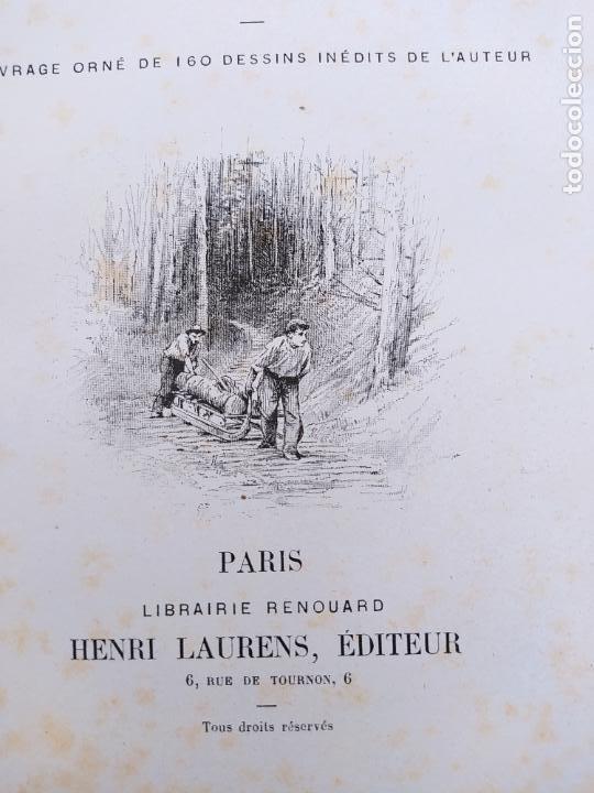 Libros antiguos: Les Vosges, Texte et Dessins G. Fraipont, ed. H. Laurens. 1897.Very rare in this condition. - Foto 17 - 231812060
