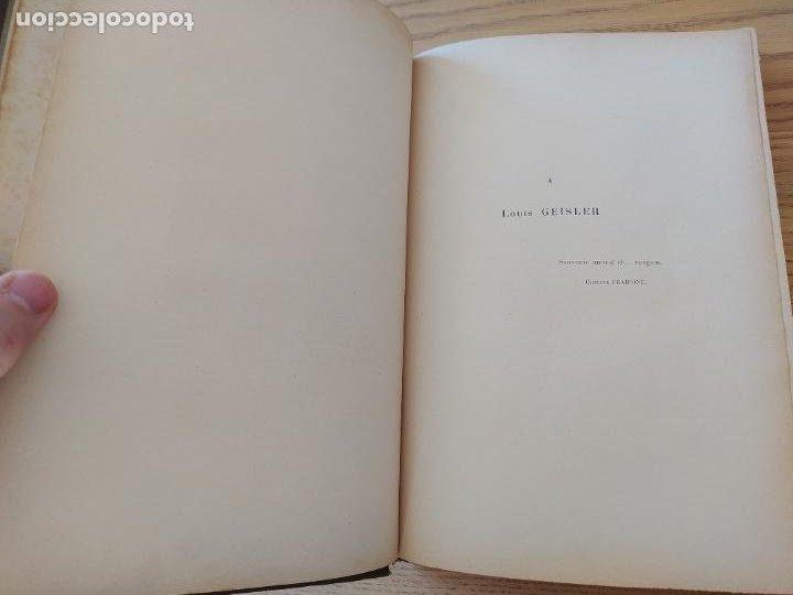 Libros antiguos: Les Vosges, Texte et Dessins G. Fraipont, ed. H. Laurens. 1897.Very rare in this condition. - Foto 18 - 231812060