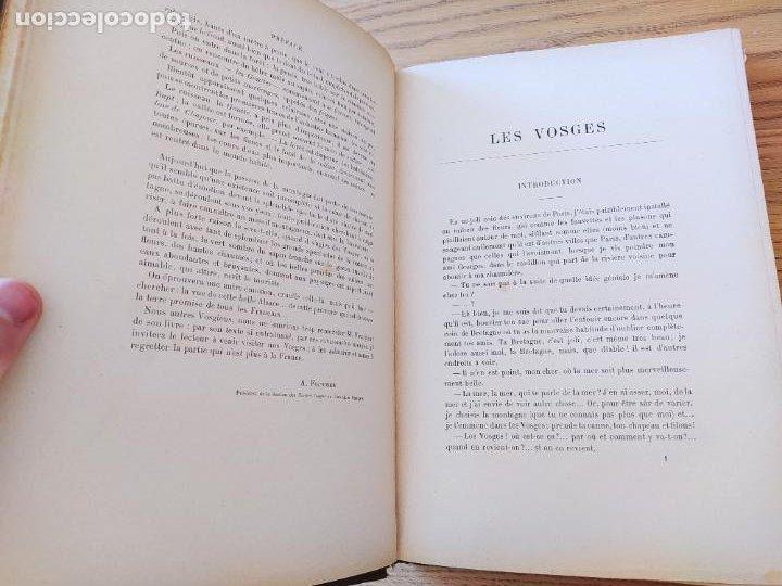 Libros antiguos: Les Vosges, Texte et Dessins G. Fraipont, ed. H. Laurens. 1897.Very rare in this condition. - Foto 19 - 231812060