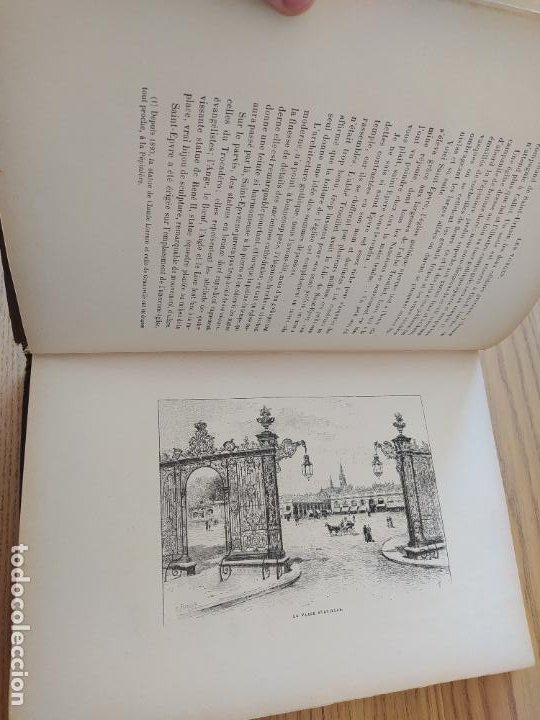 Libros antiguos: Les Vosges, Texte et Dessins G. Fraipont, ed. H. Laurens. 1897.Very rare in this condition. - Foto 21 - 231812060