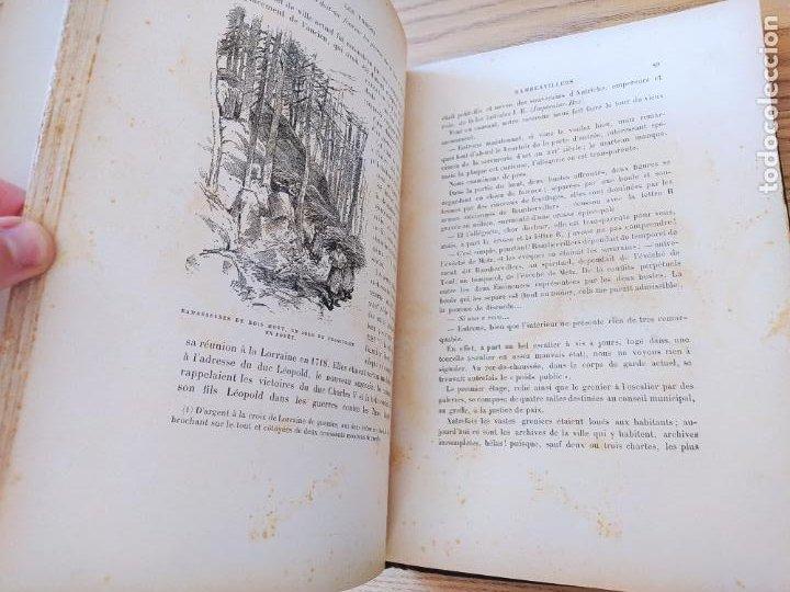 Libros antiguos: Les Vosges, Texte et Dessins G. Fraipont, ed. H. Laurens. 1897.Very rare in this condition. - Foto 22 - 231812060
