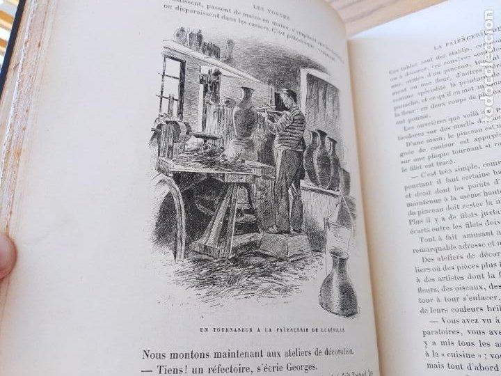 Libros antiguos: Les Vosges, Texte et Dessins G. Fraipont, ed. H. Laurens. 1897.Very rare in this condition. - Foto 23 - 231812060