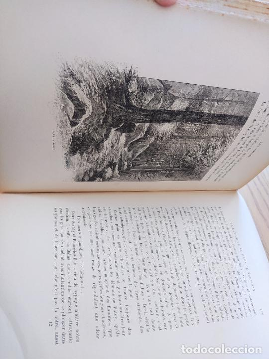 Libros antiguos: Les Vosges, Texte et Dessins G. Fraipont, ed. H. Laurens. 1897.Very rare in this condition. - Foto 25 - 231812060