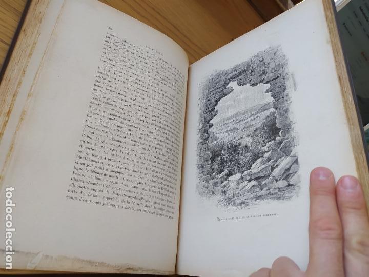 Libros antiguos: Les Vosges, Texte et Dessins G. Fraipont, ed. H. Laurens. 1897.Very rare in this condition. - Foto 27 - 231812060