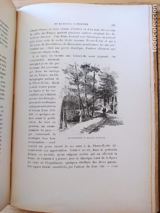 Libros antiguos: Les Vosges, Texte et Dessins G. Fraipont, ed. H. Laurens. 1897.Very rare in this condition. - Foto 29 - 231812060