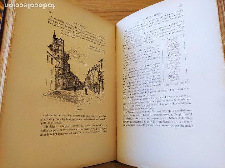 Libros antiguos: Les Vosges, Texte et Dessins G. Fraipont, ed. H. Laurens. 1897.Very rare in this condition. - Foto 30 - 231812060