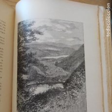 Libros antiguos: LES VOSGES, TEXTE ET DESSINS G. FRAIPONT, ED. H. LAURENS. 1897.VERY RARE IN THIS CONDITION.. Lote 231812060