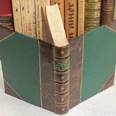 Libros antiguos: AÑO 1869 - FISIOLOGÍA DEL GUSTO POR BRILLAT-SAVARIN - GASTRONOMÍA 1ª EDICIÓN ESPAÑOLA COCINA. Lote 231869175