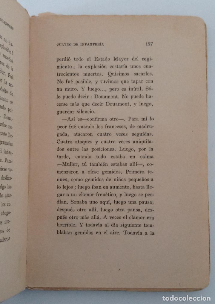 Libros antiguos: CUATRO DE INFANTERÍA. ERNST JOHANNSEN. 1929. W - Foto 2 - 231967990