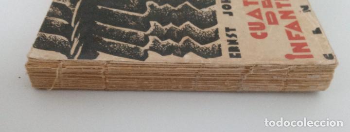 Libros antiguos: CUATRO DE INFANTERÍA. ERNST JOHANNSEN. 1929. W - Foto 3 - 231967990