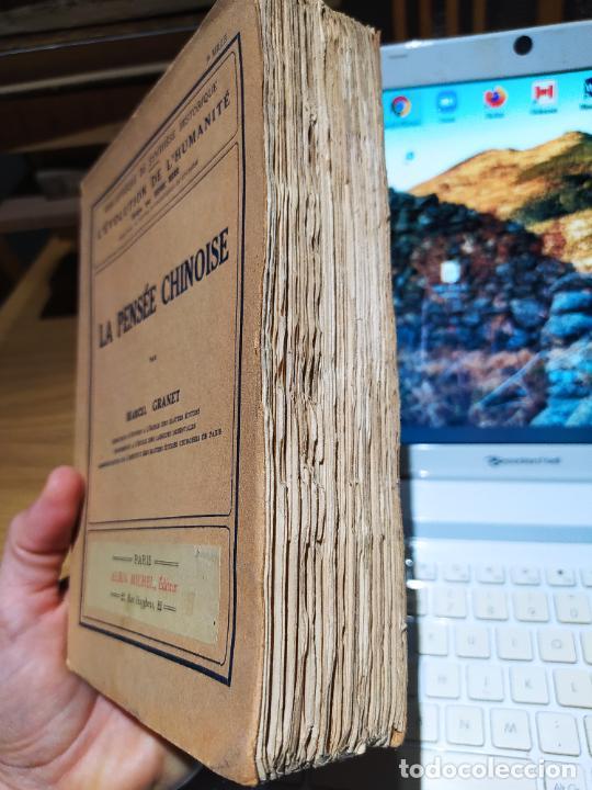 Libros antiguos: La Pensee chinoise, Macel Granet, ed. Albin, Paris. 1934 - Foto 2 - 232085485